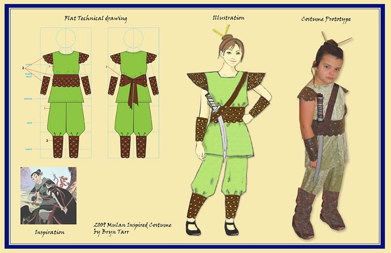 Mulan Costume By Del Nero Designs Bryntarr Com